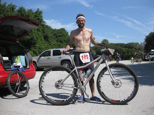 Hal Post-Primal After Finishing Xterra Sprint Triathlon - 07/11