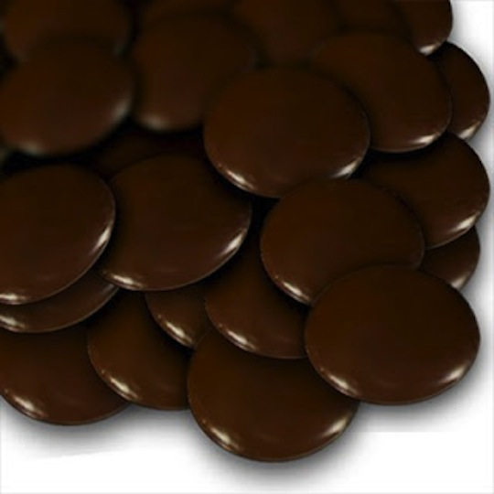 Dark Chocolate Medallions