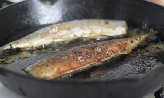 Frying Fish