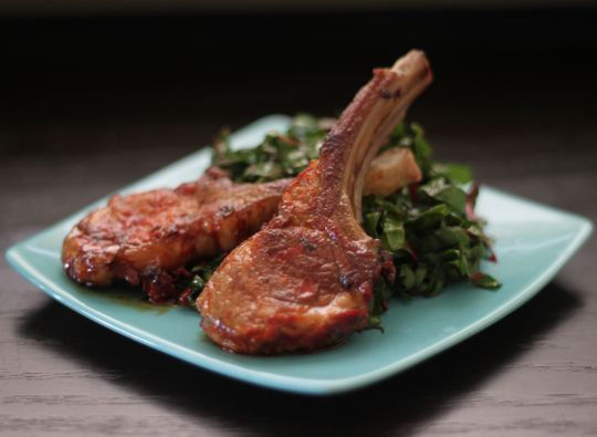 Harissa Lamb Chops