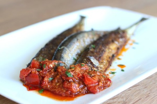 Pan-Fried Mackerel