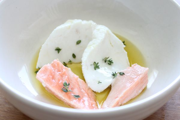 Fish Poached in Olive Oil