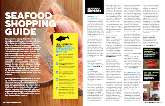Seafood Shopping Guide