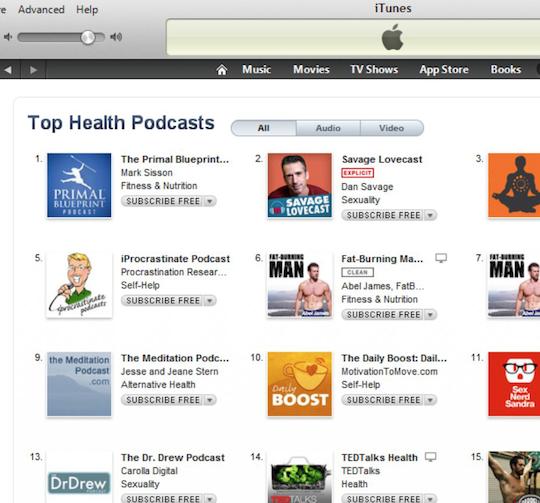 #1 on iTunes!