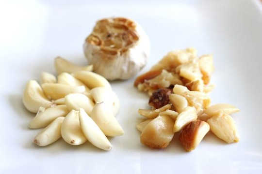 Cooked Garlic