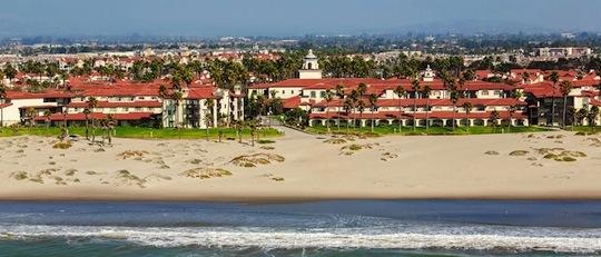 embassy suites mandalay beach ocean aerial view