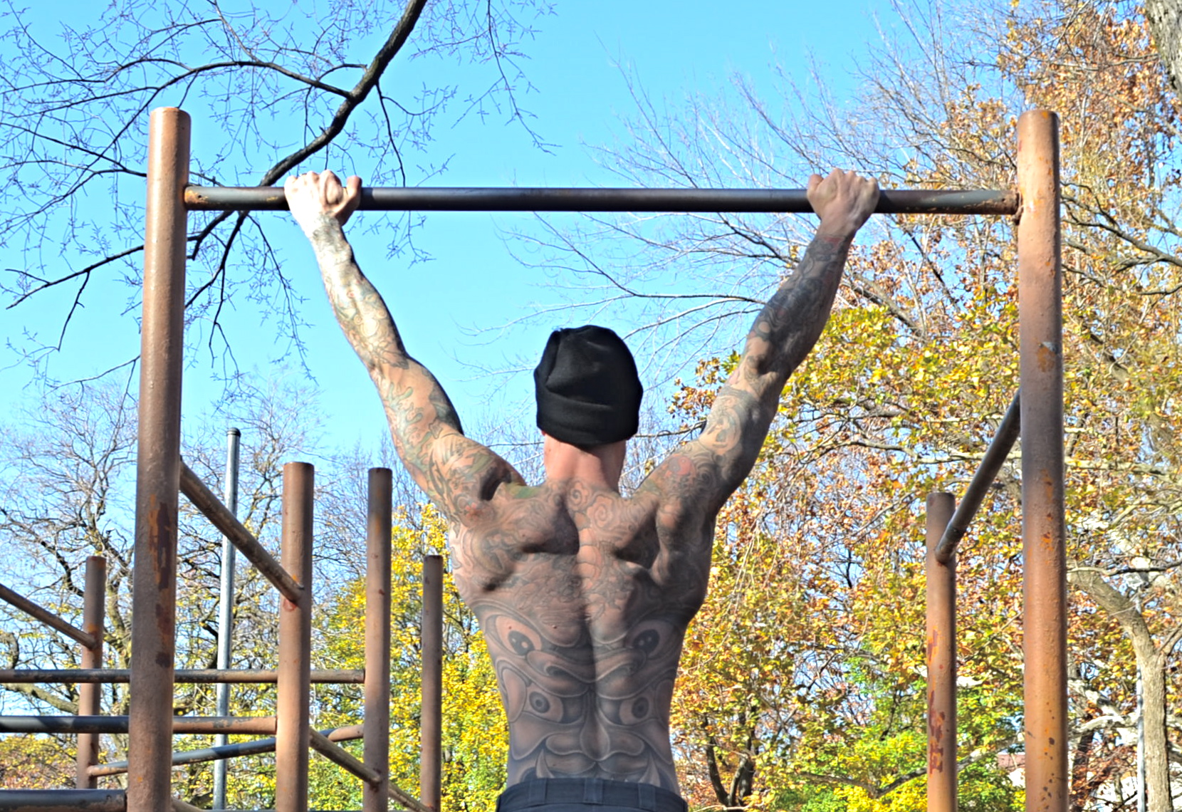 Al Kavadlo Backyard Pull Up Bar : The Importance of Pullup Bar Training  Marks Daily Apple