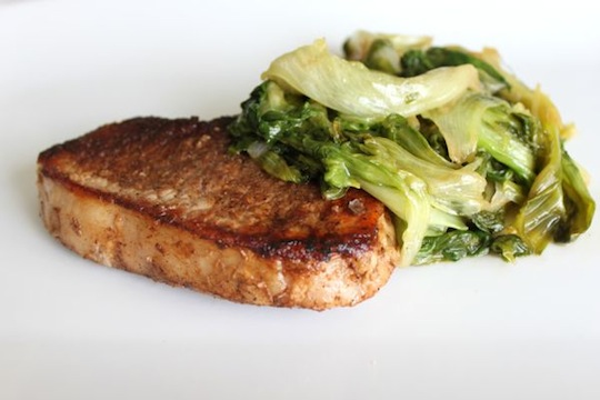 Escarole and Pork