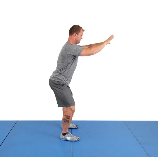 Step 2: Load your hips and hamstrings