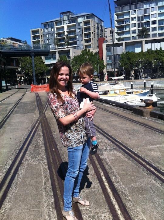 Vicki and Son - November 2012