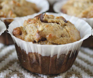 Chunky Monkey Muffins from Primal Cravings