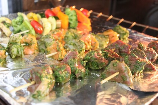 Broiling Skewers