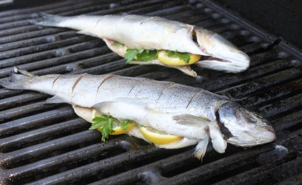 How to grill a whole fish mark 39 s daily apple for Sea salt fish grill