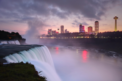 Niagara Falls Making Negative Ions
