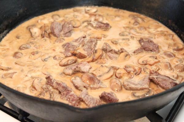 Beef Stroganoff III Recipe — Dishmaps
