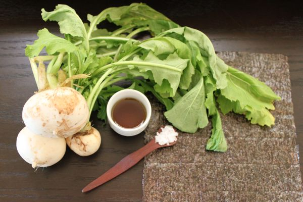 Turnips Ingredients