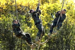 Army Rope Climb