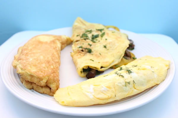 3 Omelets