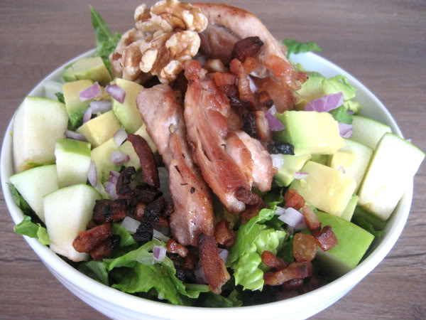 Bacon, Chicken and Avocado Salad