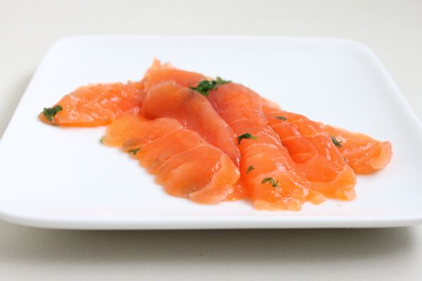 Homemade Gravlax