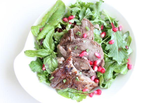 Lamb Pomegranate Salad