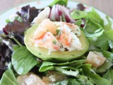 Lobster, Grapefruit and Avocado Salad with Creamy Citrus Dressing