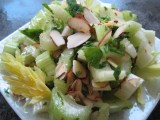 Simple Celery and Almond Salad