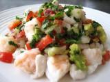 Halibut, Snapper and Shrimp Ceviche