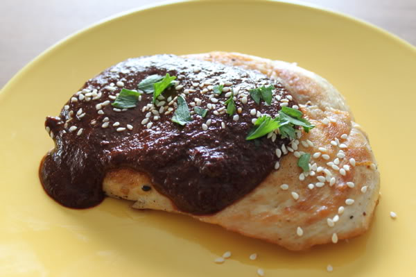 Mole on your chicken