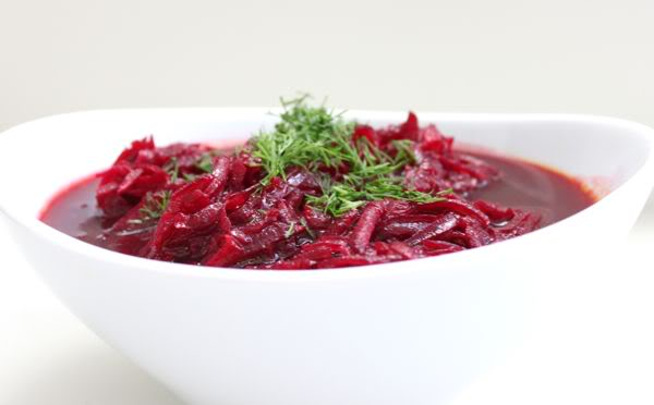 Chilled Beet Soup