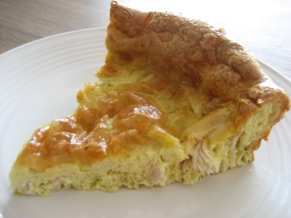 Chicken Curry Clafouti