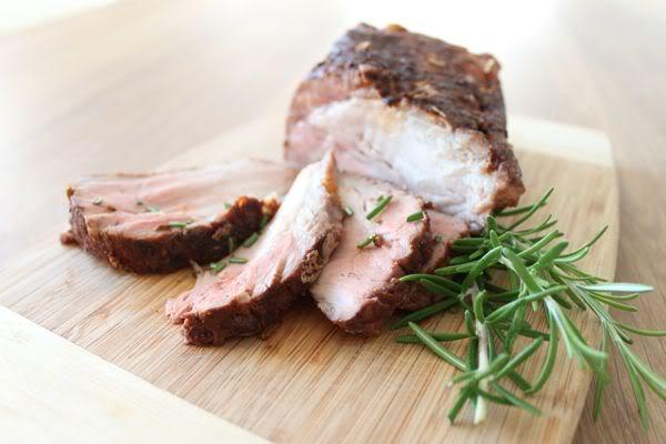 Charcoal Roasted Pork Loin