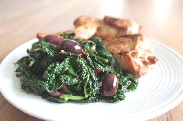 Kale and Quail