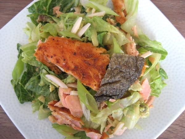 Curried Salmon Salad