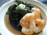 shrimp and greens1 160x120