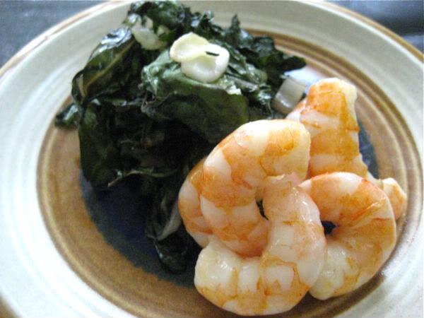 Shrimp and Greens