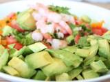 "Shrimp ""Grok-amole"" Salad"