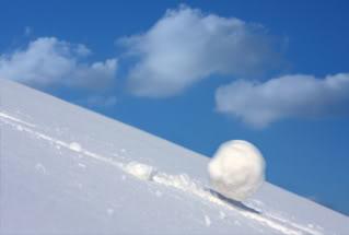 Roll snowball, roll!