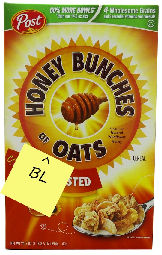 Honey Bunches of Bloats