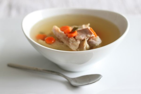 Kombu Chicken Soup