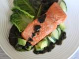 Crispy Skin Salmon with Nori Vinaigrette