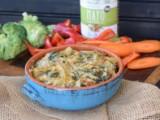 Paleo Spinach & Artichoke Crab Dip