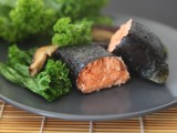 Nori-Wrapped Roasted Salmon