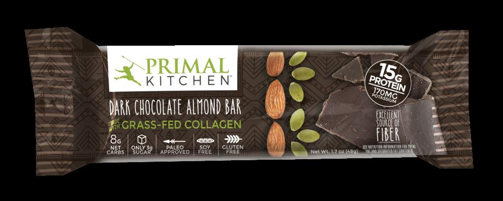 Primal Kitchen Dark Chocolate Almond Bar Ingredients